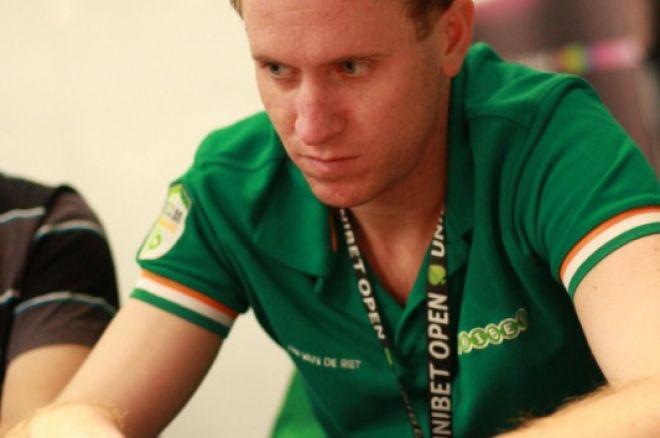 Unibet Open Valencia - Tim van de Riet chipleader van het toernooi