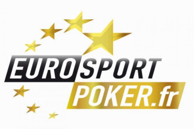 Eurosport Poker : 1.100€ de freerolls chaque semaine
