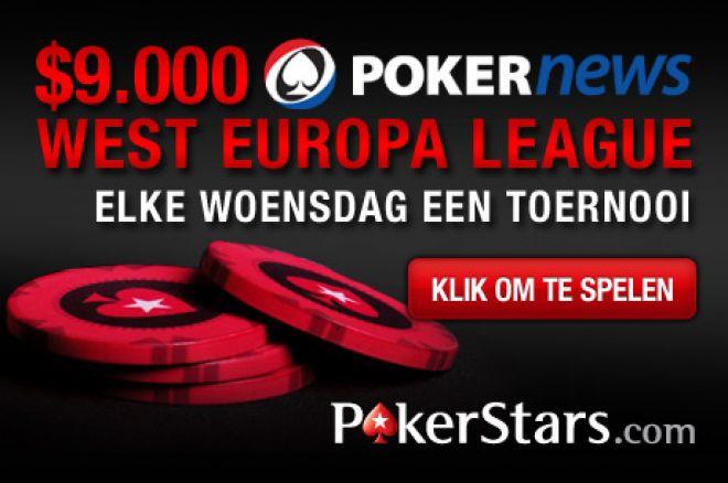 Speel mee in de $9.000 PokerNews Western European League!