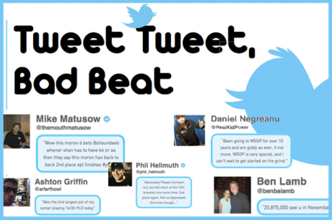 Tweet Tweet, Bad Beat - Glantz op dreef en schelden met Dale Phillip