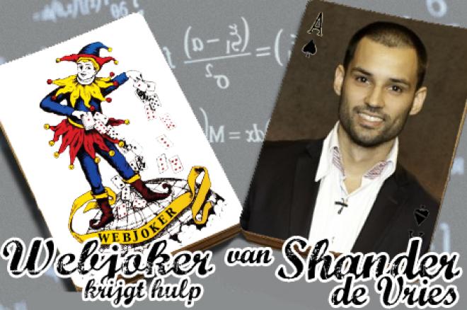 Webjoker krijgt hulp van Shander de Vries: MCOP hand tegen de uiteindelijke winnaar