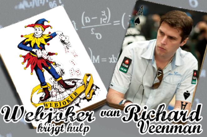 Webjoker krijgt hulp van Richard Veenman: river check in limit hold'em
