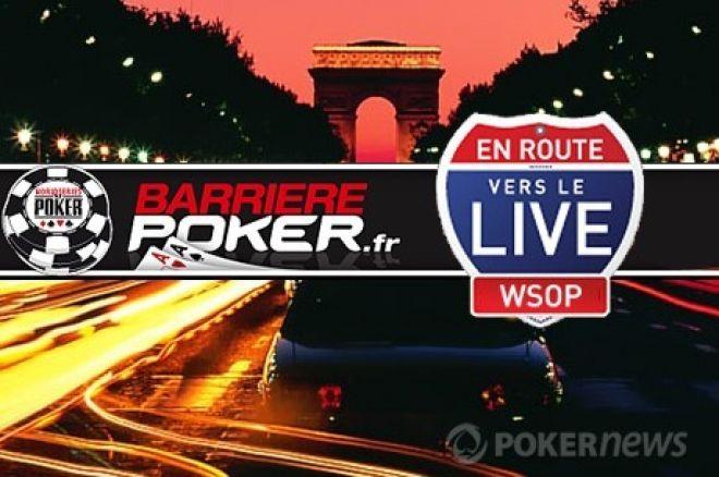 BarrièrePoker.fr : 30 packages Barrière Poker Tour Nice (60.000€)