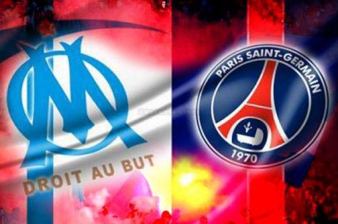 Pronostic Clasico PSG – OM : Paris coté à 1.80, Marseille à 4,00