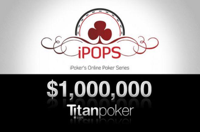 Doe mee met de iPOPS op Titan Poker; het eerste toernooi begint morgen al!