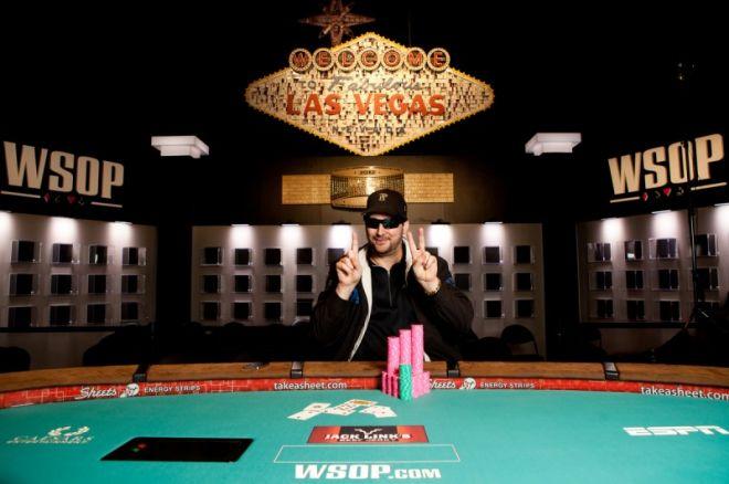 WSOP Boulevard: Phil Hellmuth wint twaalfde bracelet; Ivey grijpt net mis 0001