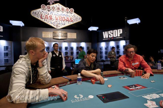 PokerNews Boulevard: Chidwick, Chiu & Schwartz strijden om bracelet; teleurstelling bij Veldhuis