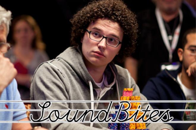 [SoundBites] Joep van den Bijgaart als chipleader naar finaletafel $2.500 mixed hold'em
