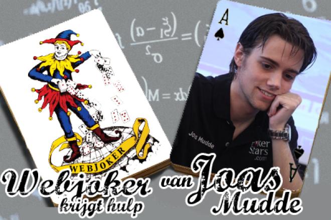 Webjoker krijgt hulp van Joas Mudde: Sit&Go's