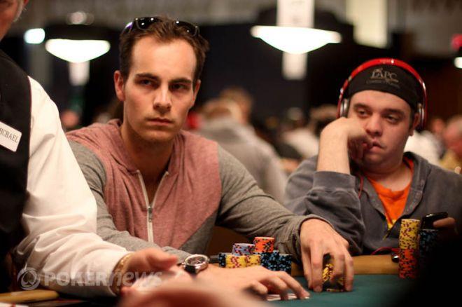 WSOP Main Event Dag 2AB - Kevin Vandersmissen en Oscar Kemps met veel chips door