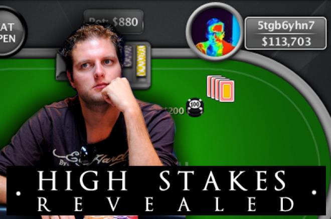 """High Stakes Revealed - Van der Sman moet inleveren, """"5tgb6yhn7"""" de grote winnaar"""