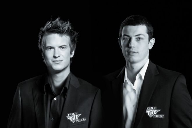 Viktor Blom and Tom Dwan