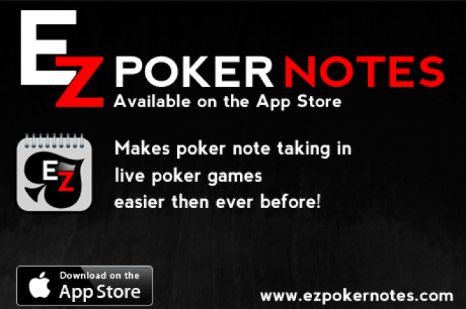 Ez Poker Notes: Available in the App Store 0001