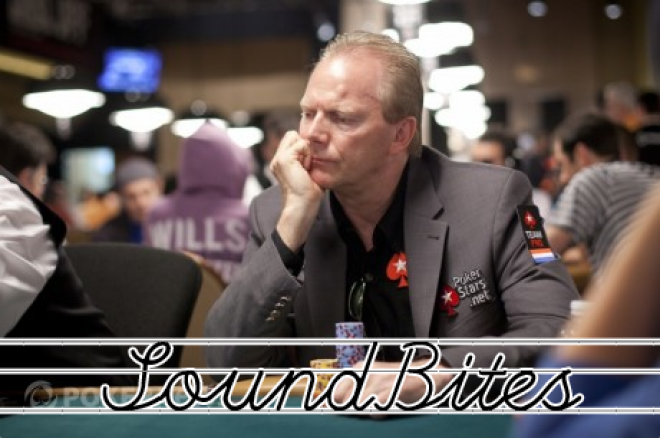 [SoundBites] Marcel Lüske over de Master Classics of Poker