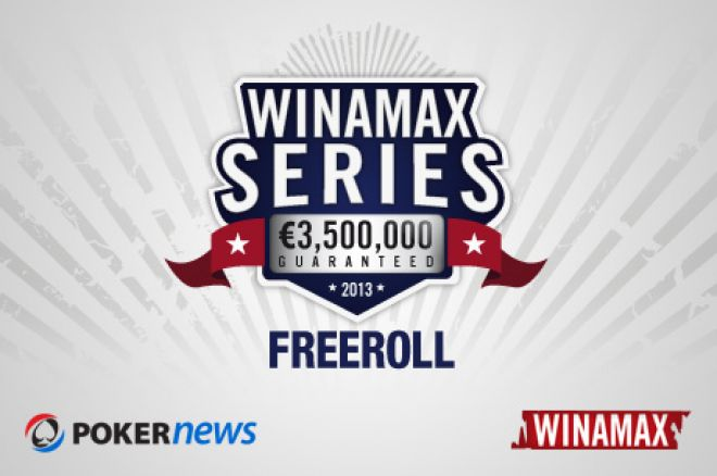 Play in the €3.5M Guaranteed Winamax Series for Free Thanks to our Exclusive Freeroll 0001