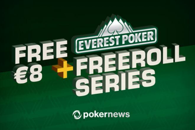 Win a Share of $1,000 in the PokerNews-Exclusive Everest Poker Freerolls 0001