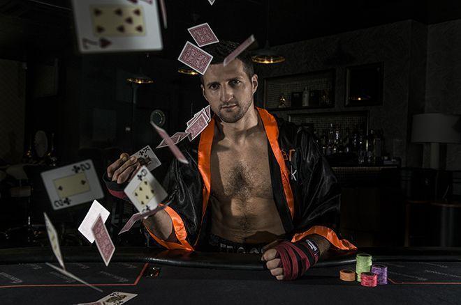 Boxer poker player