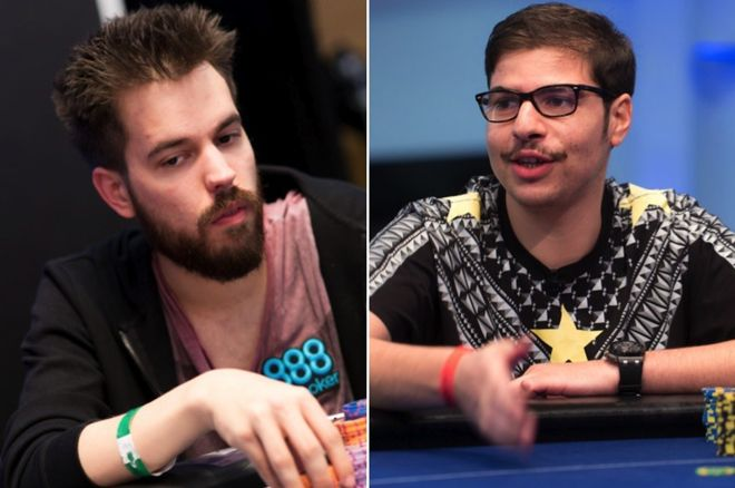 Dominik Nitsche (left) and Mustapha Kanit (right)
