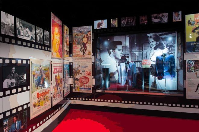 Elvis Presley exhibit at the Westgate