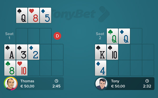 Play pineapple poker online free