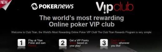 Titan Poker VIP Rewards Promotion