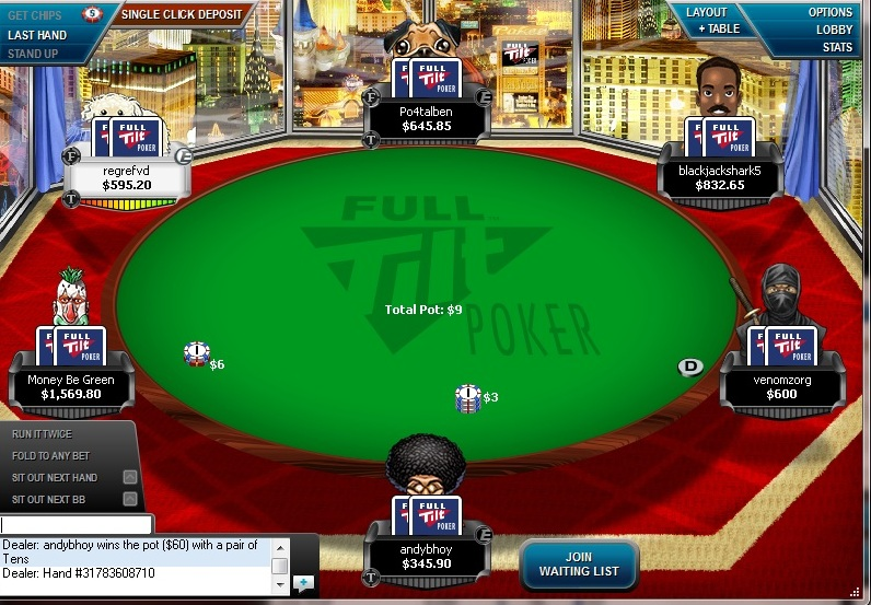 full tilt poker for mac os x