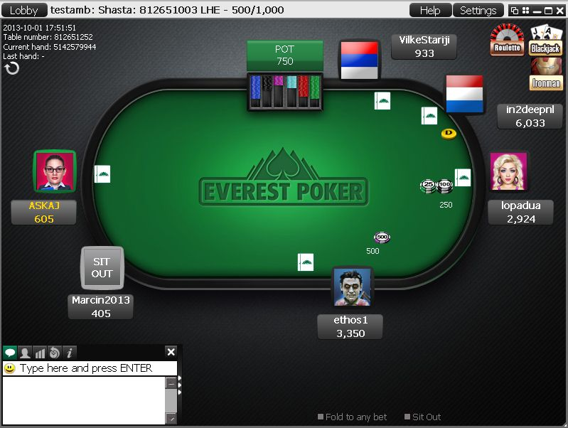everest poker free bonus
