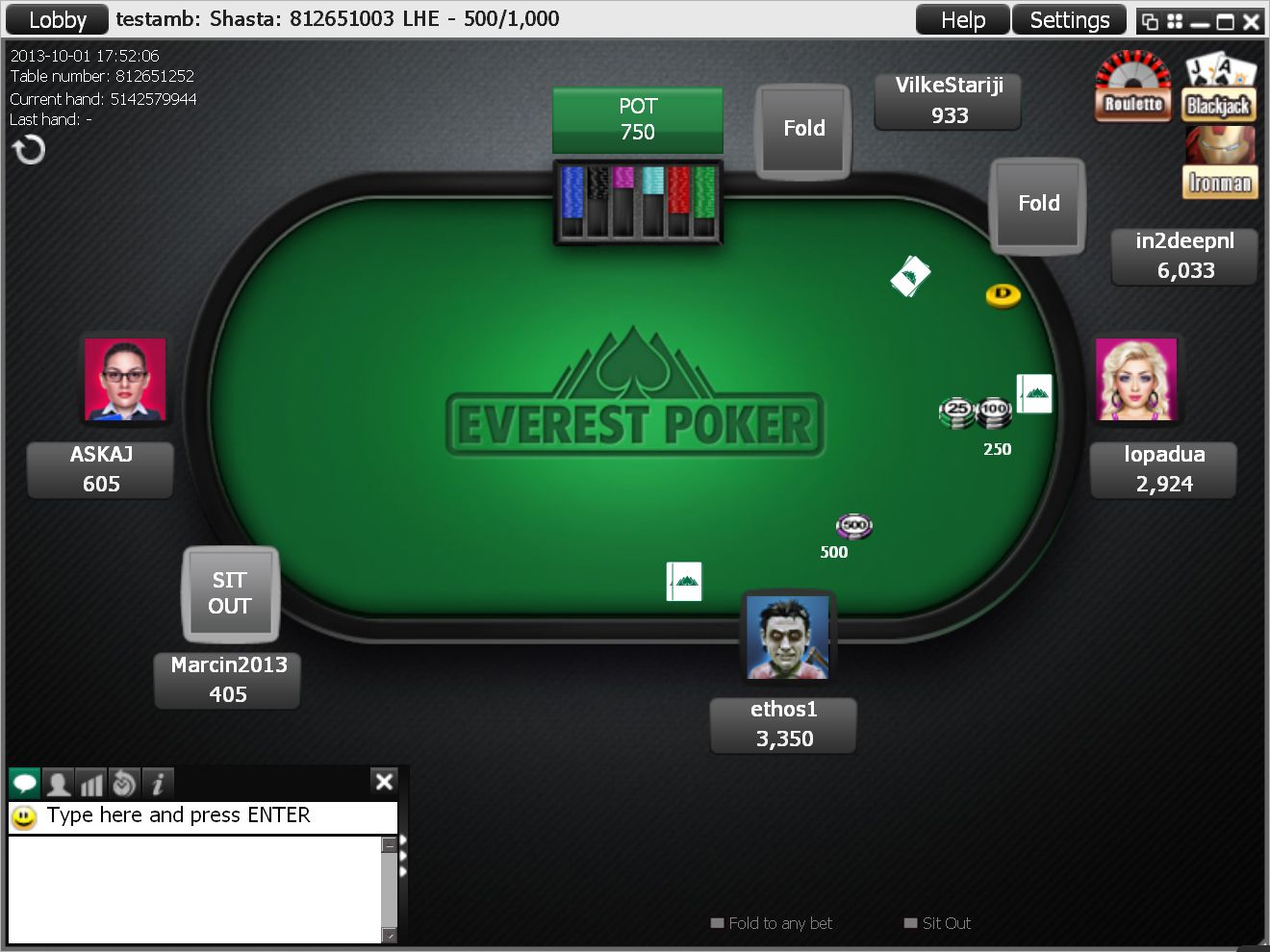 everest poker tools