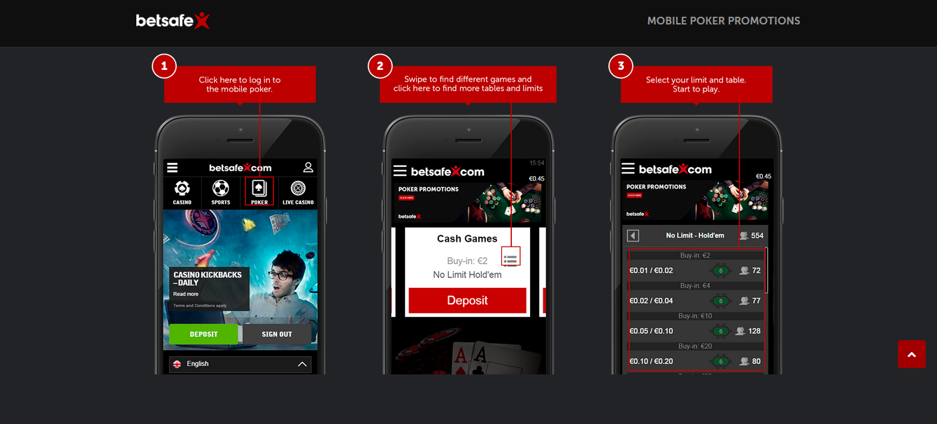 Betsafe App for iPhone and iPad