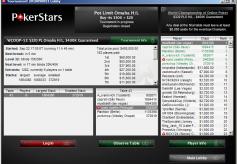 PokerStars Tourney