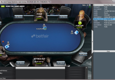Betfair Poker Table