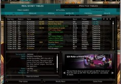 PKR Poker Lobby