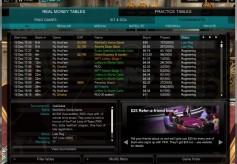 PKR Poker Lobby