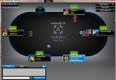 LuckyAcePoker Cash Game Table