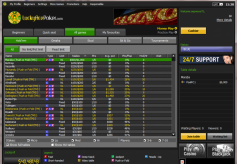 LuckyAcePoker Cash Game Lobby