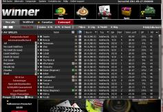 Winner Poker Cash Game Lobby