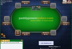 PaddyPower Poker Cash Game Table