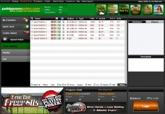 PaddyPower Poker Cash Game Lobby
