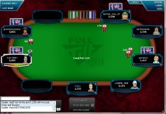 Full tilt tournament table