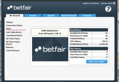 Betfair Cashier