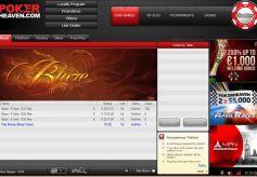 Poker Heaven Lobby