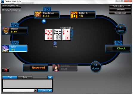 888c Poker Table