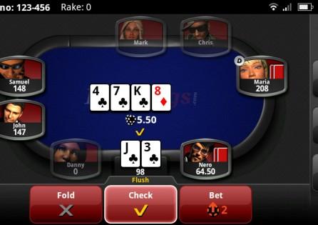 RedKings Poker table