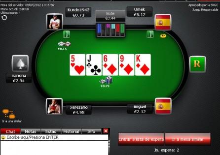 TitanBet.es Cash Table