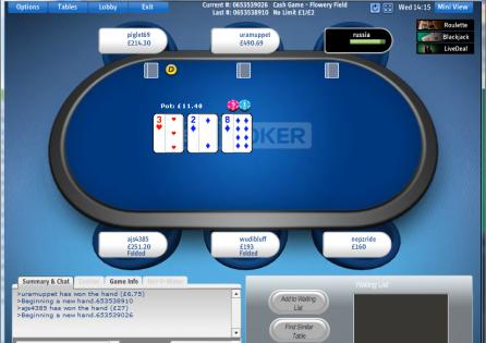 Sky Poker Table