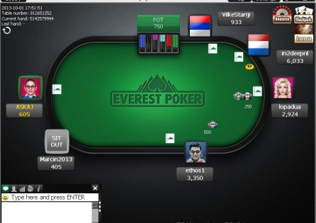 Everest Poker Table