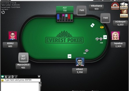Everest Poker Table 2