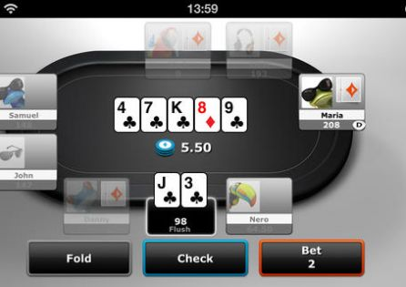 Party Poker App Table