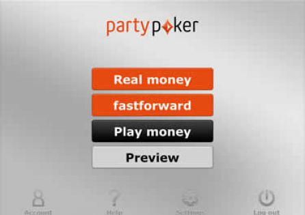 Party Poker App Lobby