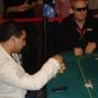 Farid Meranghi and John Conroy at the final table